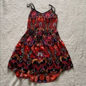 BAND OF GYPSIES • FLORAL STRAP DRESS